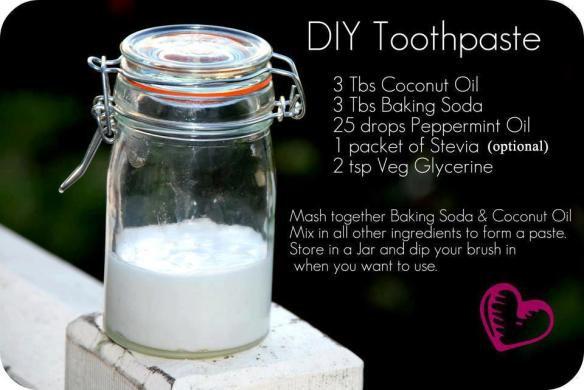 Homemade Tooth Paste