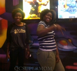 2 of 4 my daughters. Deyda and Cassie