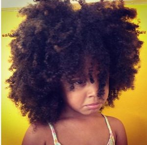 With all that hair....why is she mad?  Her mammy should be crying!