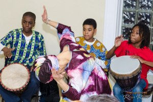 Soulful drumming and dancing