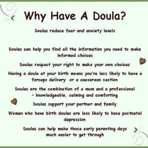why a doula