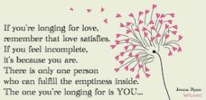 self self love