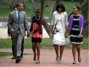 The First Family Easter swag!