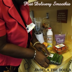Post recovery smoothie by Jabela The Doula
