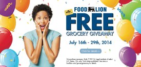 I won my groceries in Charlotte NC!