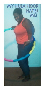 QC Super mom hula hoop training