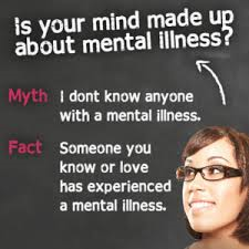 You know someone with mentla illness and it's alright.