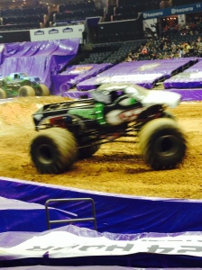Spike in the QC Monster Jam