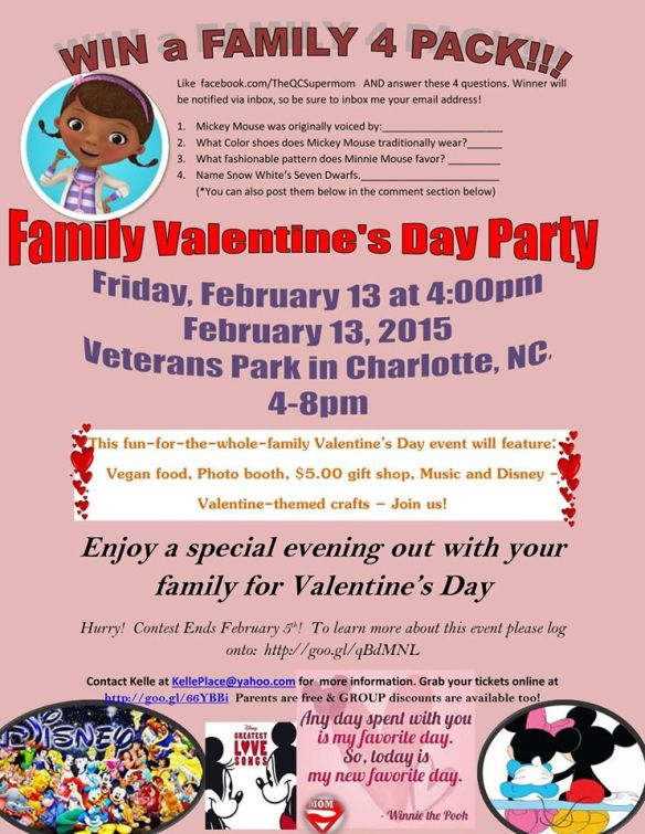 QC Supermom Valentines Day Party 2015