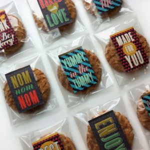 vegan gift cookies
