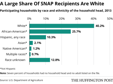 Who uses food stamps