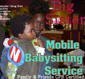 Private, CPR certified, mobile sitter and small event planner in Charlotte, NC.