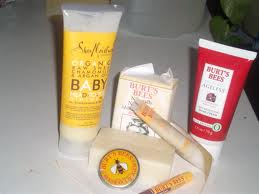 Bert Bees hooked me onto some amazing clean products.